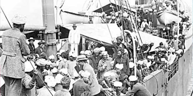 Canada to issue stamp on Komagata Maru Tragedy on May 6, 2014