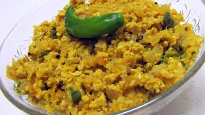 Egg bhurji curry recipe