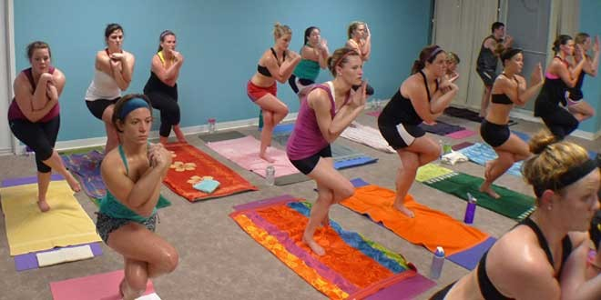 Hot Yoga is getting popular in the fitness and health world