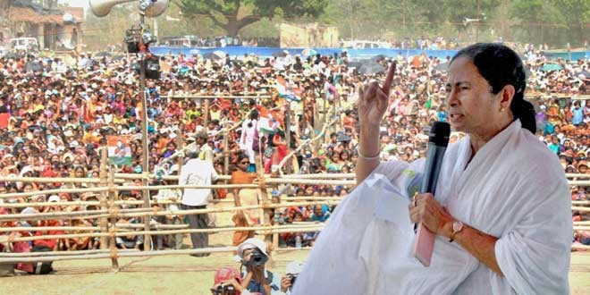 Mamata Benerjee claims murder conspiracy after explosives found near rally