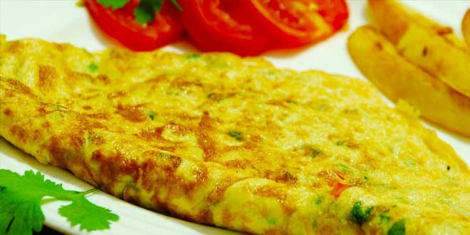 Indian Masala Omelette Recipe