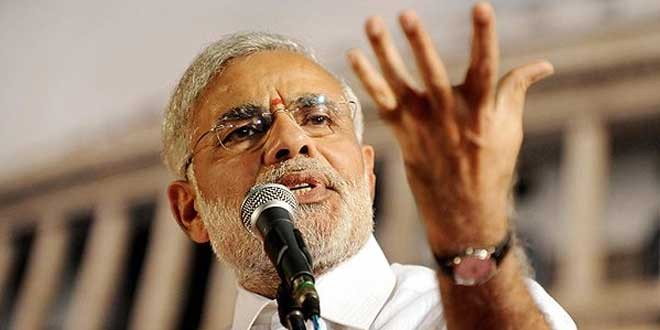 "BJP seeks to project ""softer, positive"" Modi"