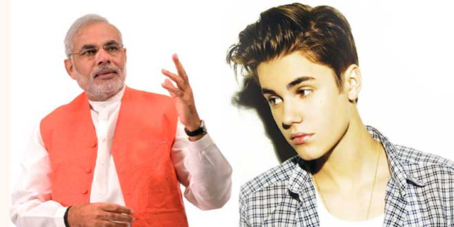 More NO votes to Modi than Justin Beiber in TIME poll