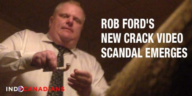 Rob Ford's new crack video scandal emerges