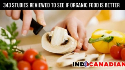 343 studies reviewed to see if organic food is better