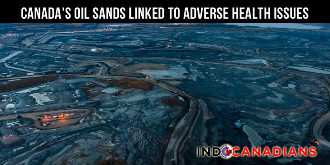 Canada's oil sands linked to adverse health issues