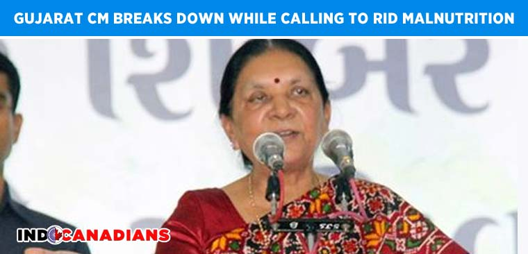 Anandiban Patel breaks down while calling to rid malnutrition, build toilets