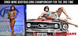 Bindi Bains wins bodybuilding championship for the third time