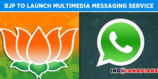 BJP to launch multimedia messaging service before local elections