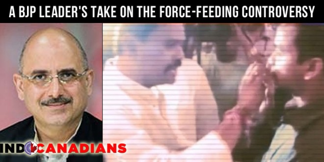 A BJP Leader's Take On The Force-Feeding Controversy