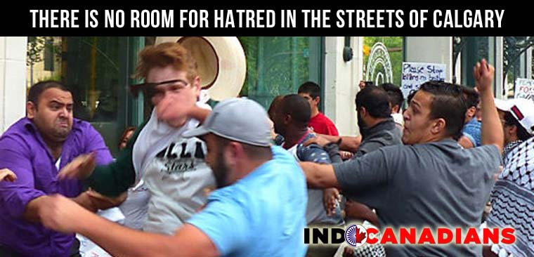 There is no room for hatred in the streets of Calgary