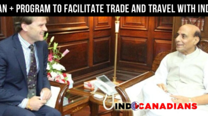 CAN+ program to facilitate trade and travel with India