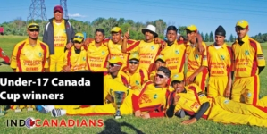 Ontario's Under-17 Reds Win Cricket's  Canada Cup