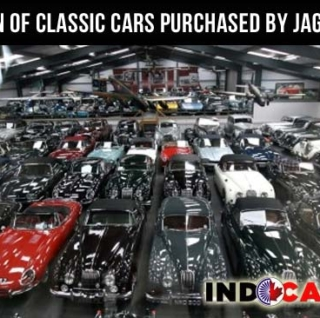 Huge collection of classic cars purchased by Jaguar Land Rover