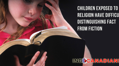 Children Exposed To Religion Have Difficulty Distinguishing Fact From Fiction