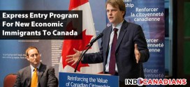 Express Entry Program For New Economic Immigrants To Canada
