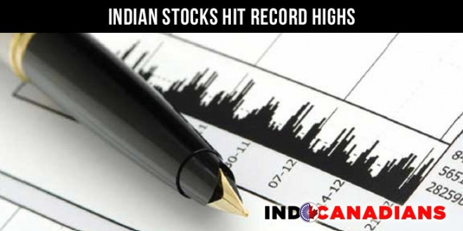 FDI In Insurance Raised, Indian Stocks Hit Record Highs