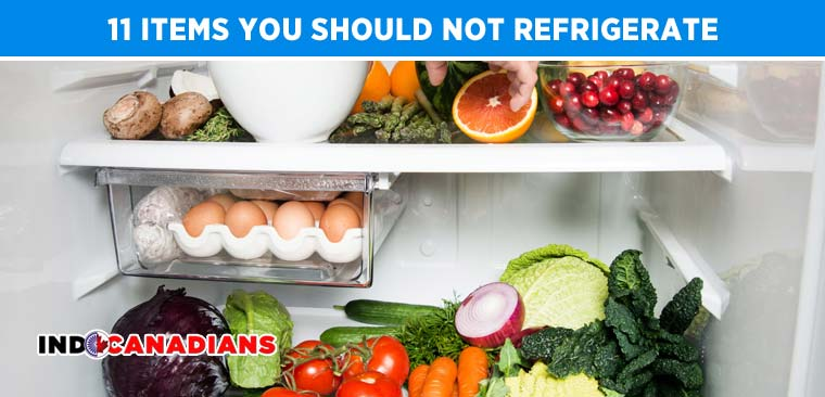 11 items you should not refrigerate