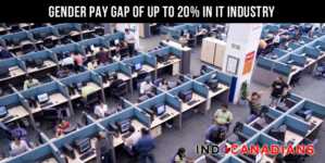 Gender pay gap of up to 20% in IT industry