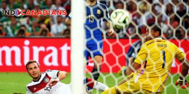 Gotze Scores, Germany Win Fourth World Cup