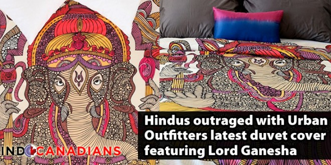 Urban Outfitters pulls Lord Ganesha duvet cover after Hindu protest