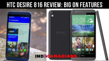HTC Desire 816 review: Big on features