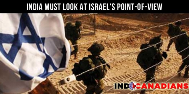 India Must Look At Israel's Point-Of-View