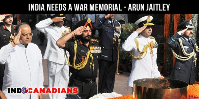'India needs a war memorial': Arun Jaitley promises funds for tribute to fallen soldiers