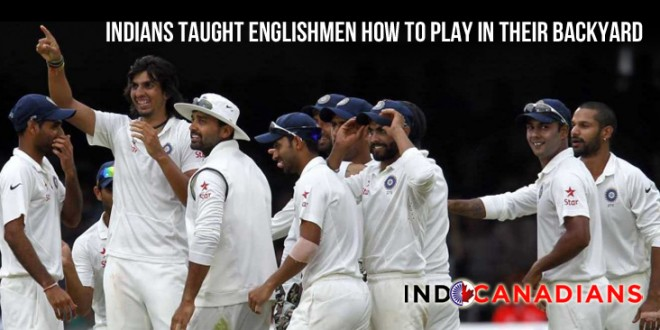 Indians taught Englishmen how to play in their backyard