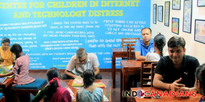 First Internet De-Addiction Center Helps Treat Child Addicts in Delhi