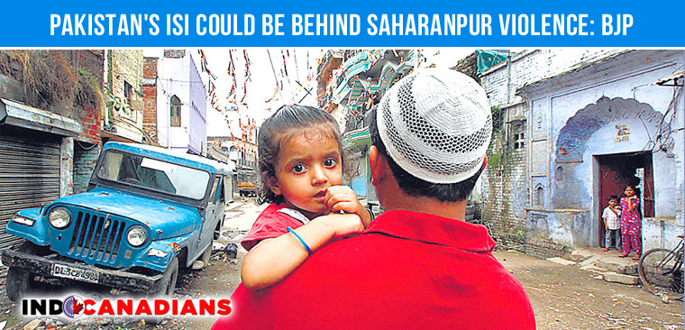 isi-saharanpur-riots-bjp-allegation
