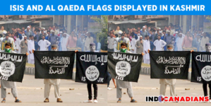 ISIS and Al Qaeda flags displayed in Kashmir