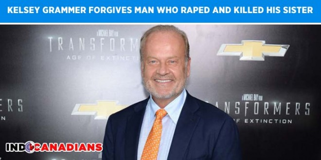 Kelsey Grammer forgives man who raped and killed his sister