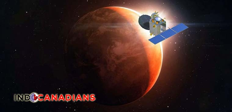 India's Mars Orbiter nearing the Red Planet