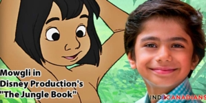 "Neel Sethi will be Mowgli in Disney Production's ""The Jungle Book"""