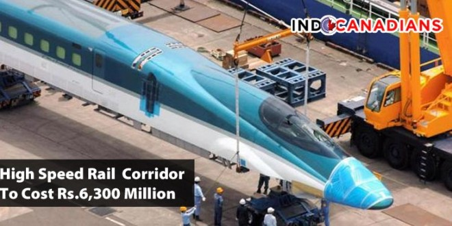 Mumbai-Ahmedabad High Speed Rail  Corridor To Cost Rs.6,300 Million