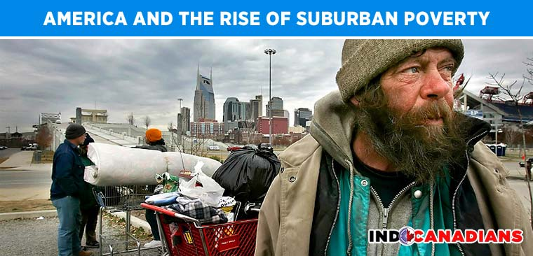 America and the rise of suburban poverty