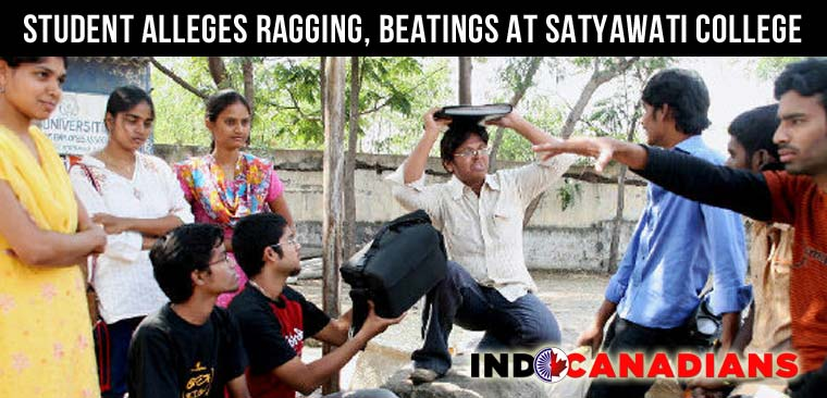 First year student alleges ragging, beatings at Satyawati College