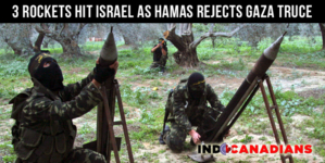 3 rockets hit Israel as Hamas rejects Gaza truce