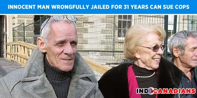Innocent man wrongfully jailed for 31 years can sue cops now