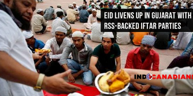 Eid livens up in Gujarat with RSS-backed iftar parties
