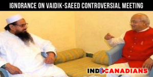 Pakistan, India Claim Ignorance On Vaidik-Saeed Controversial Meeting