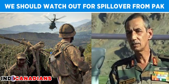 India Should Watch Out for Spillover from North Waziristan Operation : Northern Army Commander
