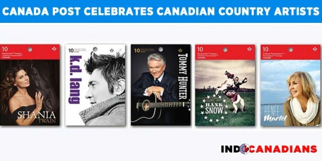 Canada Post celebrates Canadian Country Artists
