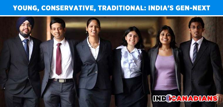 Young, conservative, traditional: Here's India's gen-next