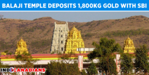 Balaji temple deposits 1,800kg gold offerings with State Bank of India