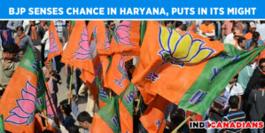 BJP senses chance in Haryana, puts in its might