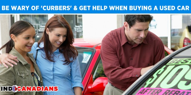 Be wary of 'curbers' and get help when buying a used car