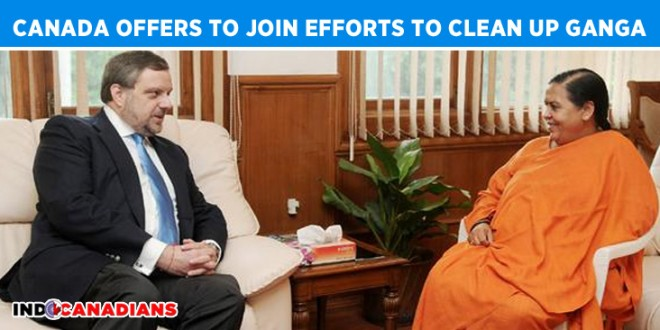 Canada offers to join efforts to clean up Ganga