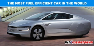 The most fuel efficient car in the world – Volkswagan XL1